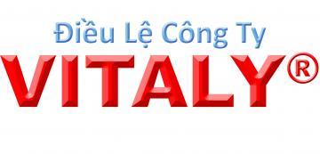 Điều lệ Công ty Cổ Phần VITALY 27-04-2012