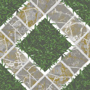 Gạch sân vườn 40x40 cm